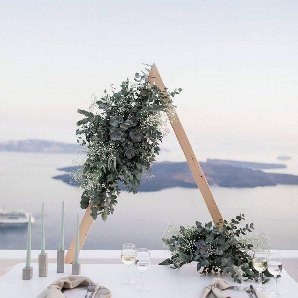 Santorini Vows Renewal